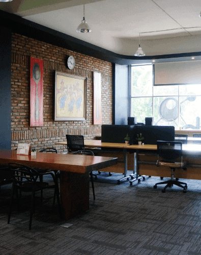 Cohub Coworking Space Medan with a view of Hot Desk and Dedicated Desk